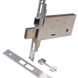 Serratura per serramenti metallici