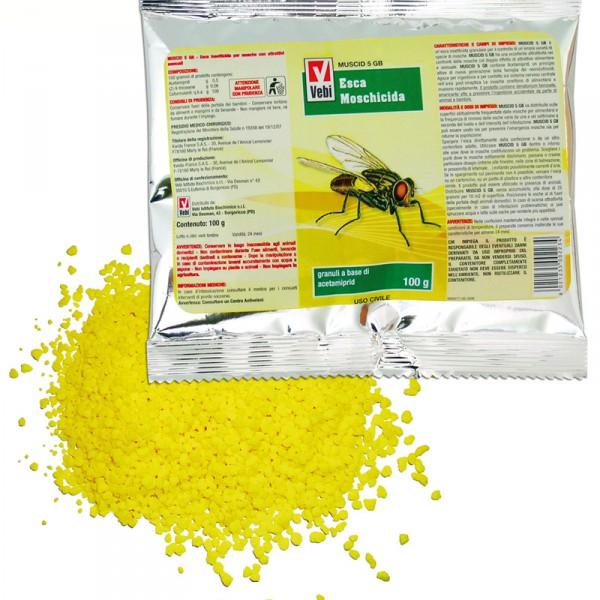 veleno mosche granelli insetticida